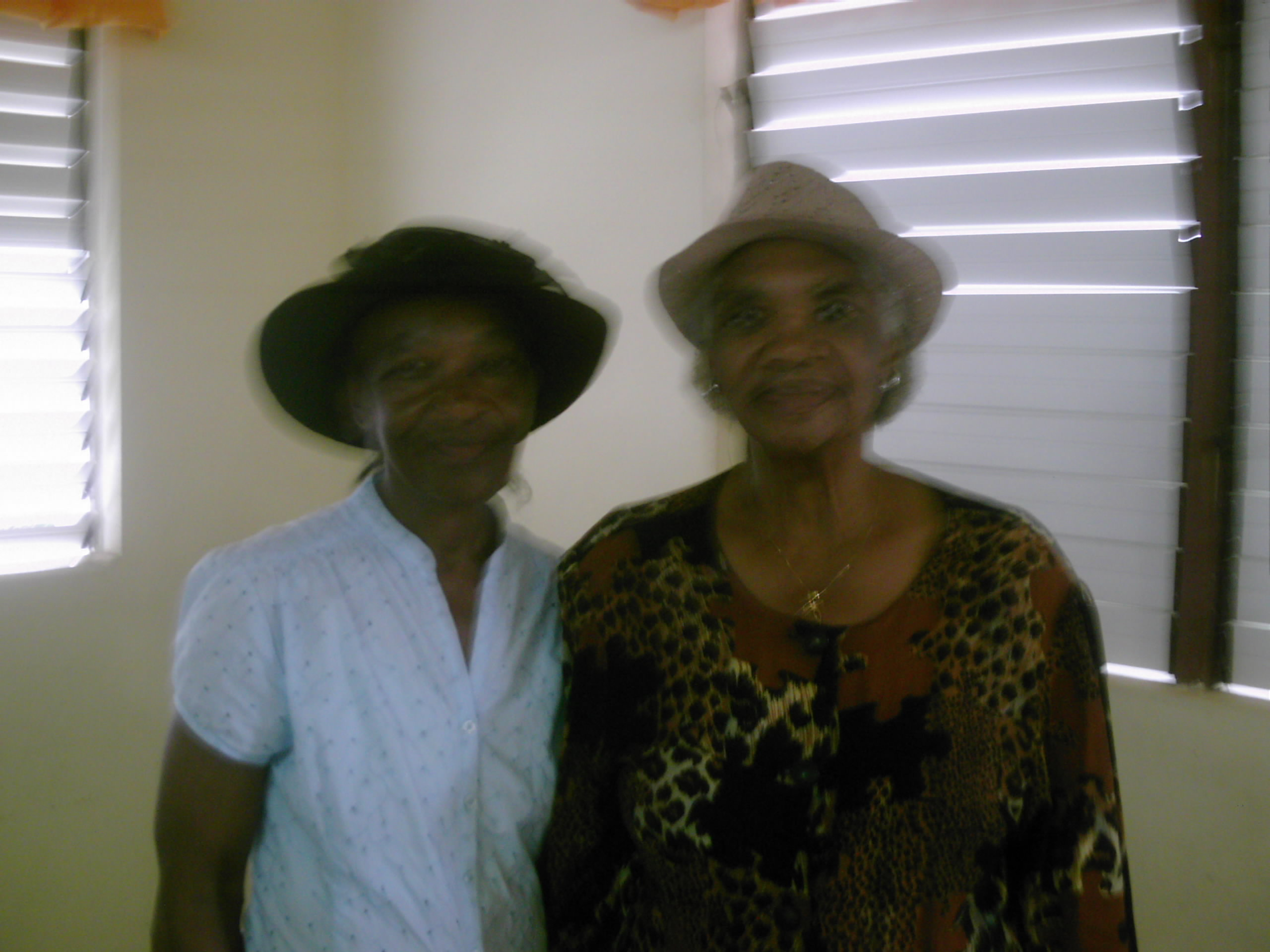 Rev. Salome Miller and Mrs. Rose, Change Hill