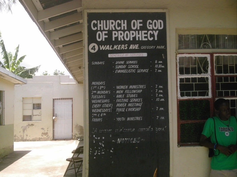 The Church of Gregory Park of Prophecy is growing in heart and in spirit!